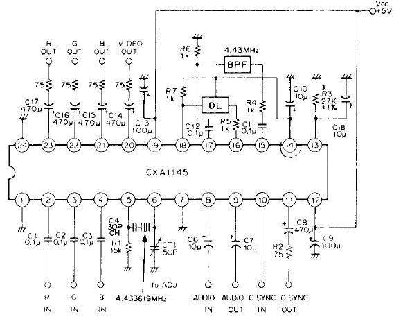 Sega genesis / 32x and component video Cxa1145_b_202