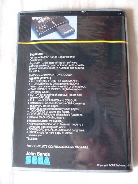 Sega c'est plus fort que moi: Deux GRAAL arrivés le même jour... Sc3000-modem-04-software