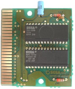 Example of game with 315-5208 chip