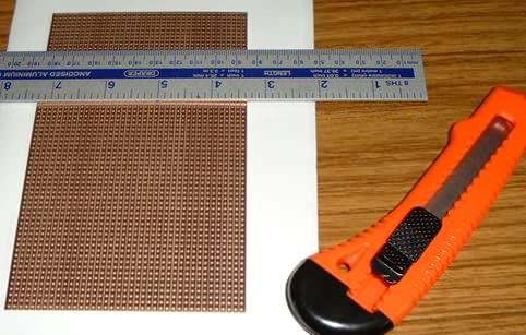Vero Board Track Cutter Tool