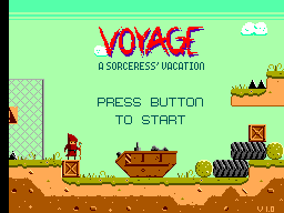 Voyage - A Sorceress Vacation AlexKiddInMiracleWorld-SMS-VoyageASorceressVacation-Mod-Title