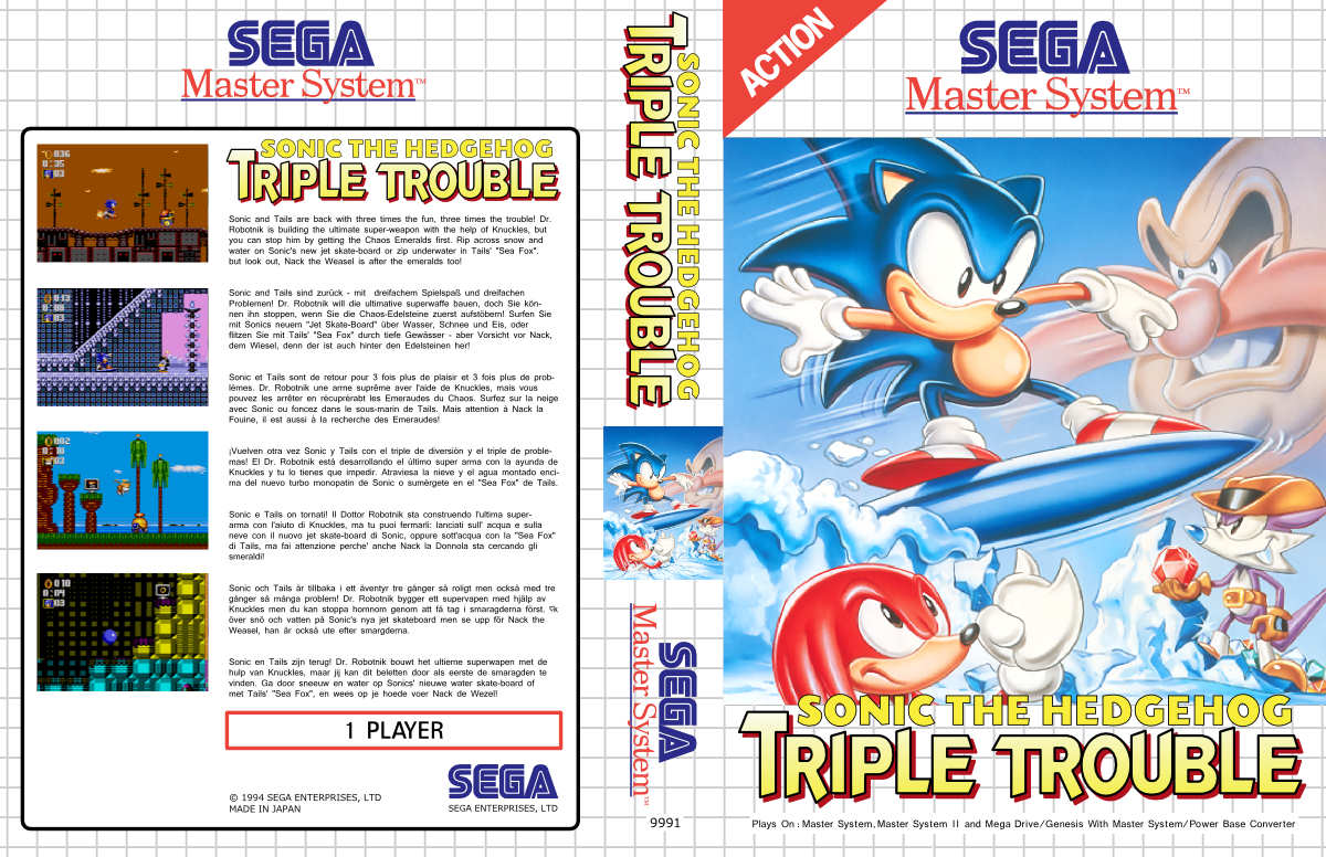 Sonic Triple Trouble Gg2sms Hacks Sms Power