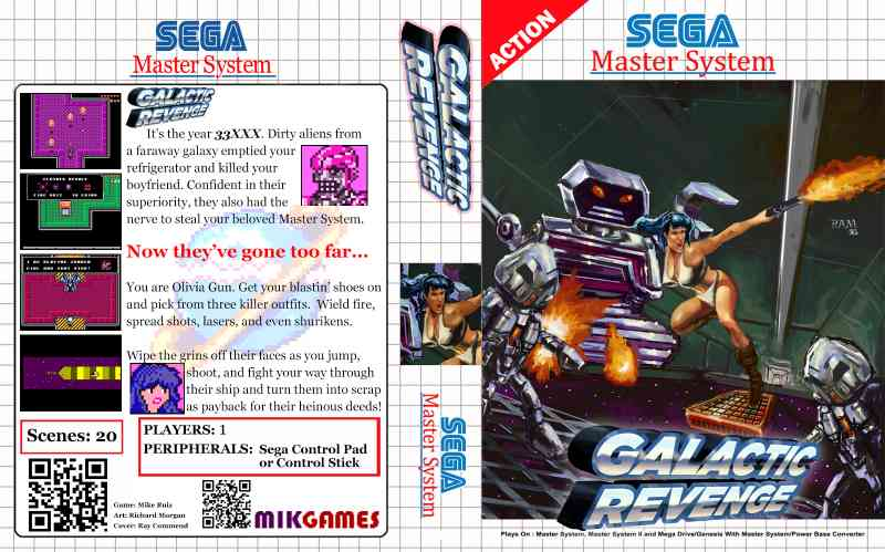 Galactic Revenge - Homebrew - SMS Power!