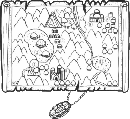 Alex Kidd: Main Map