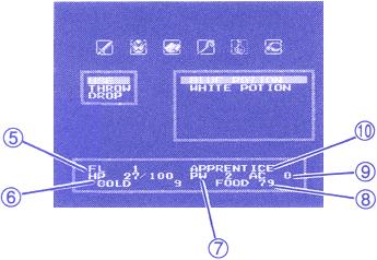 Status screen