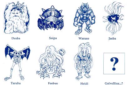 Golvellius: Demons