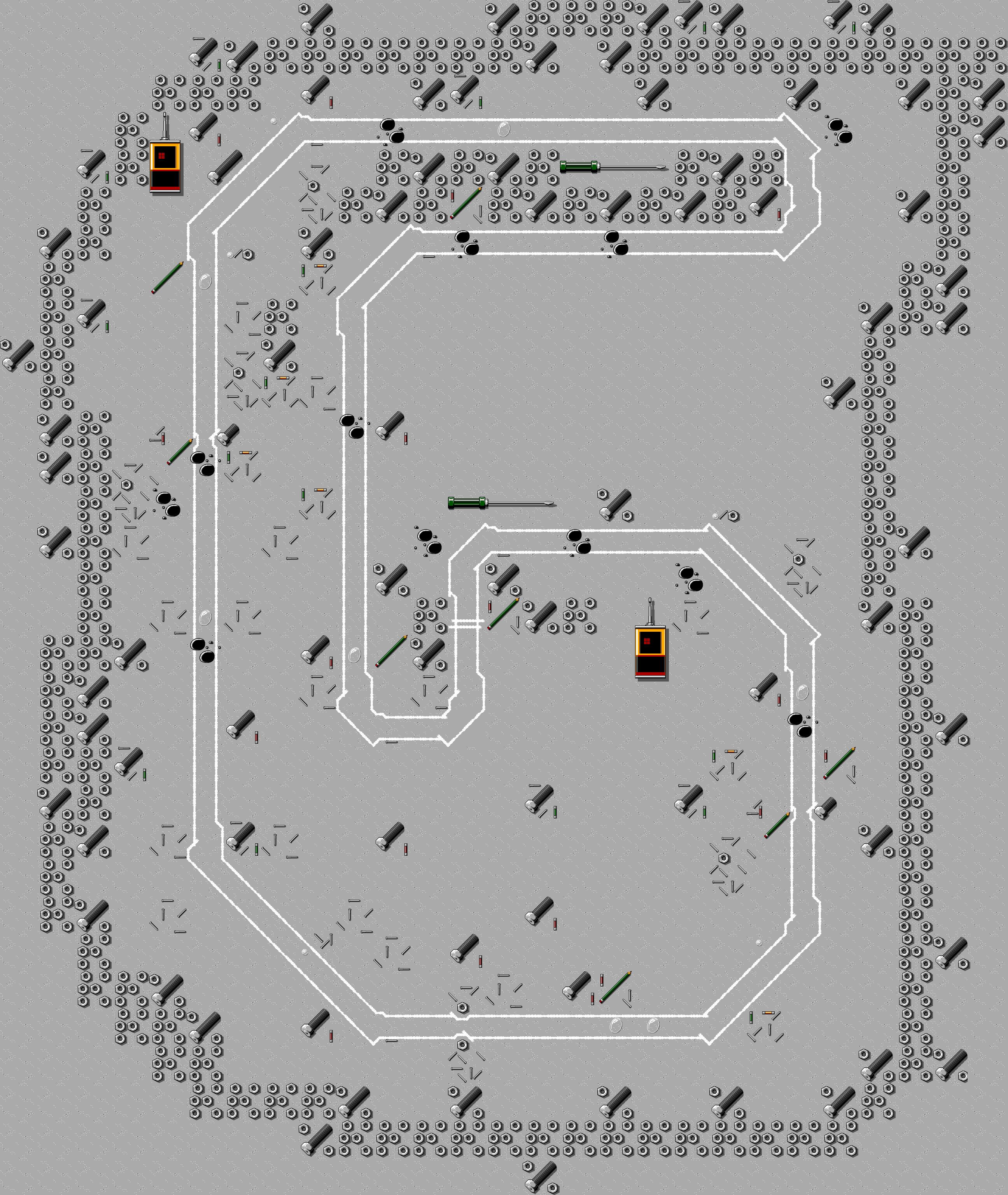 micro machines - maps