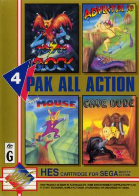 4 Pak All Action -  AU