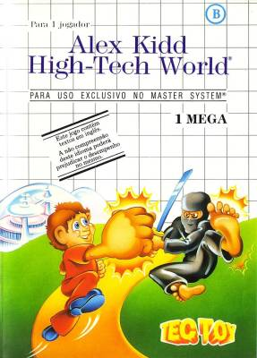 Alex Kidd High Tech World -  BR -  B