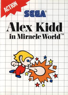 Alex Kidd in Miracle World -  US -  Rerelease -  Front