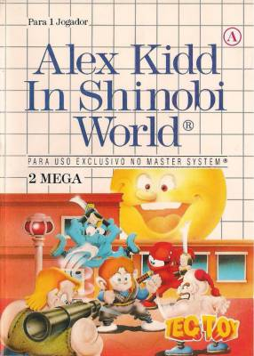 Alex Kidd in Shinobi World -  BR