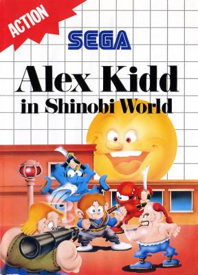 Alex Kidd in Shinobi World -  EU