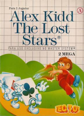 Alex Kidd the Lost Stars -  BR -  Cardboard