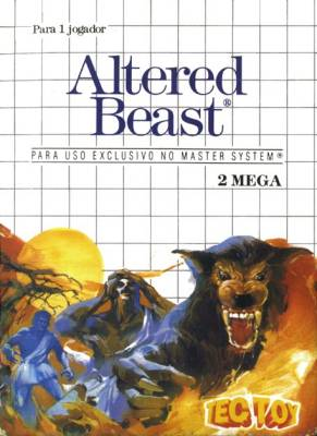Altered Beast -  BR -  White - 1