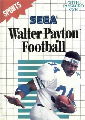 American Pro Football -  US -  Walter Payton Football -  Front