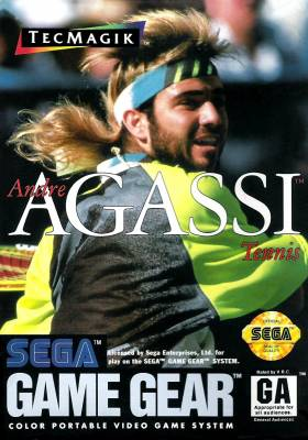 Andre Agassi Tennis -  US -  Front