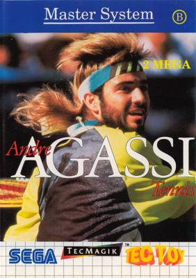 Andre Agassi Tennis -  BR