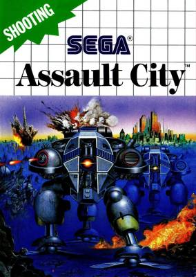 Assault City -  EU -  Control Pad -  R