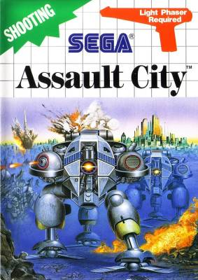 Assault City -  EU -  Light Phaser -  R -  US
