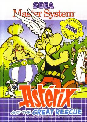 Asterix and the Great Rescue -  PT