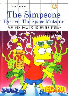 Bart Vs the Space Mutants -  BR