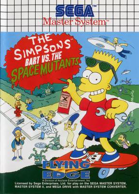 Bart Vs the Space Mutants -  EU