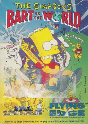 Bart Vs the World -  EU -  Front