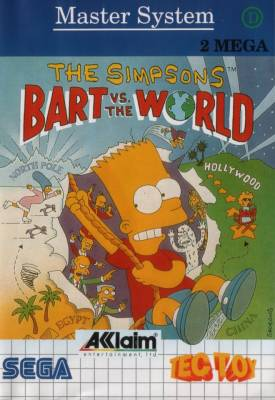 Bart Vs the World -  BR