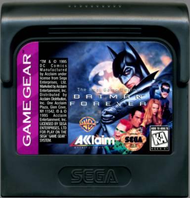 Batman Forever -  US -  Cartridge