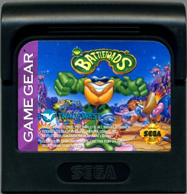 Battletoads -  US -  Cartridge