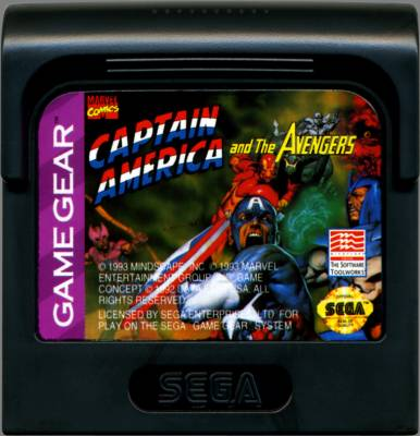 Captain America -  US -  Cartridge