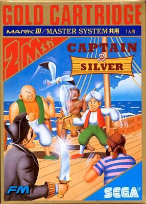 Captain Silver -  JP -  Front