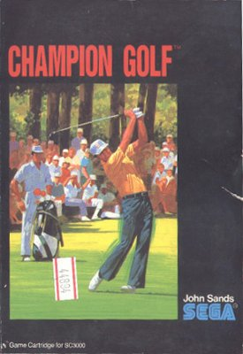 Champion Golf -  AU -  Front