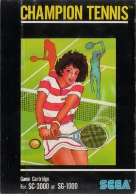 Champion Tennis -  FR -  Front