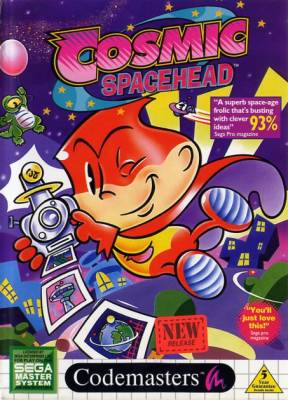 Cosmic Spacehead -  EU