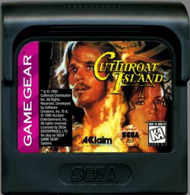 Cutthroat Island -  US -  Cartridge