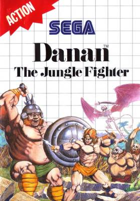 Danan the Jungle Fighter -  EU