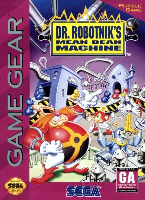 Dr Robotniks Mean Bean Machine -  US -  Front