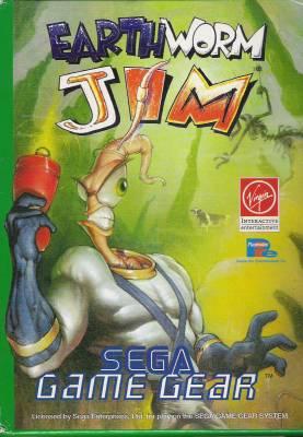 Earthworm Jim -  EU -  Front