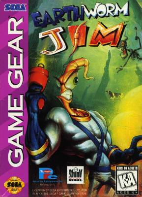 Earthworm Jim -  US -  Front