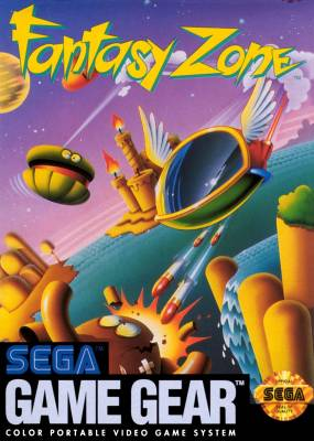 Fantasy Zone -  US -  Front