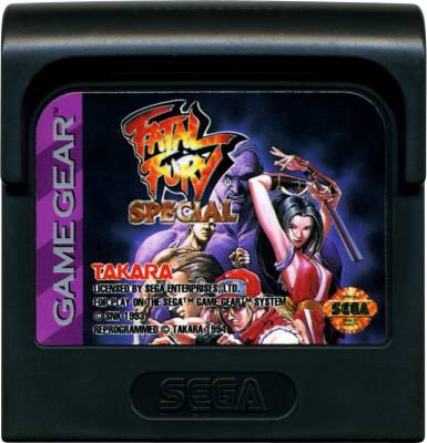Fatal Fury Special -  US -  Cartridge