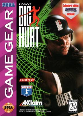 Frank Thomas Big Hurt Baseball -  US -  Front