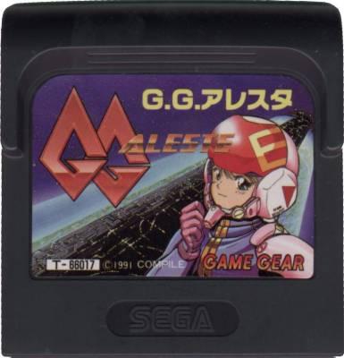 GG Aleste -  JP -  Cartridge