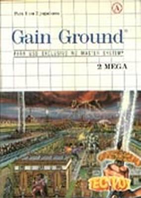 Gain Ground -  BR -  Front