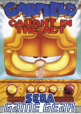 Garfield Caught in the Act -  EU -  Front