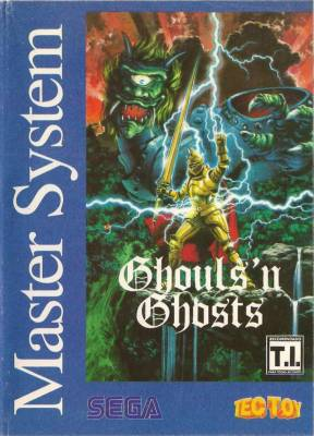 Ghouls N Ghosts -  BR -  Blue