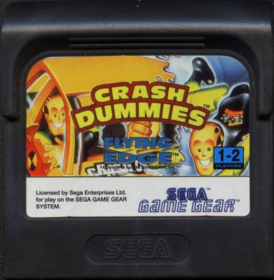 Incredible Crash Dummies -  EU -  Cartridge