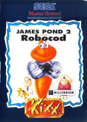 James Pond II -  EU -  Kixx
