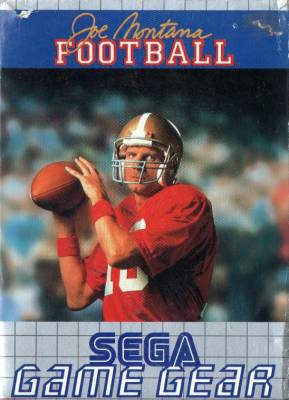 Joe Montana Football -  EU -  Front